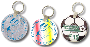 Roound Key Tags