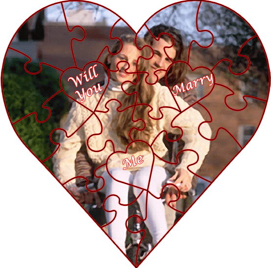 The Custom Love Puzzle - example three