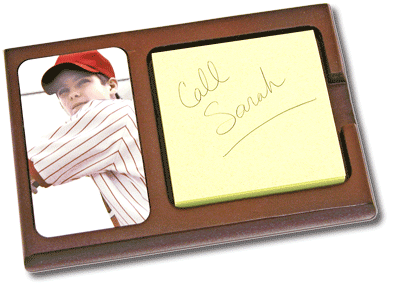 Sticky Note Holder with Picture